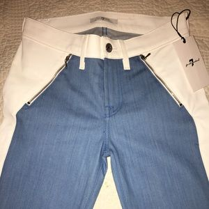 7 for all mankind RARE two toned jeans.Size 26 NWT